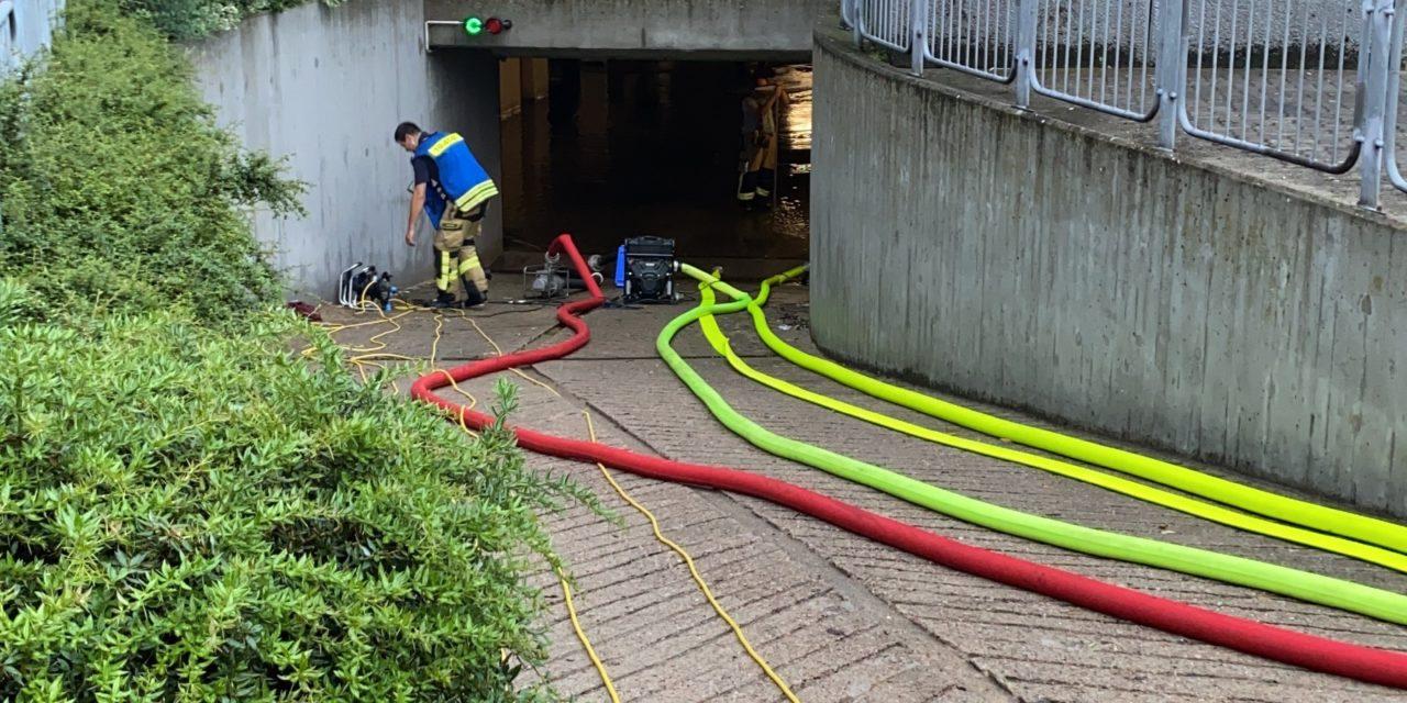 Unterstützung Feuerwehr Uetersen nach Starkregen
