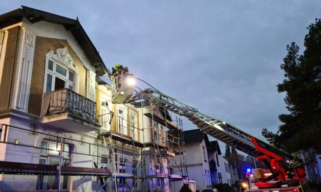 Feuer im Dach